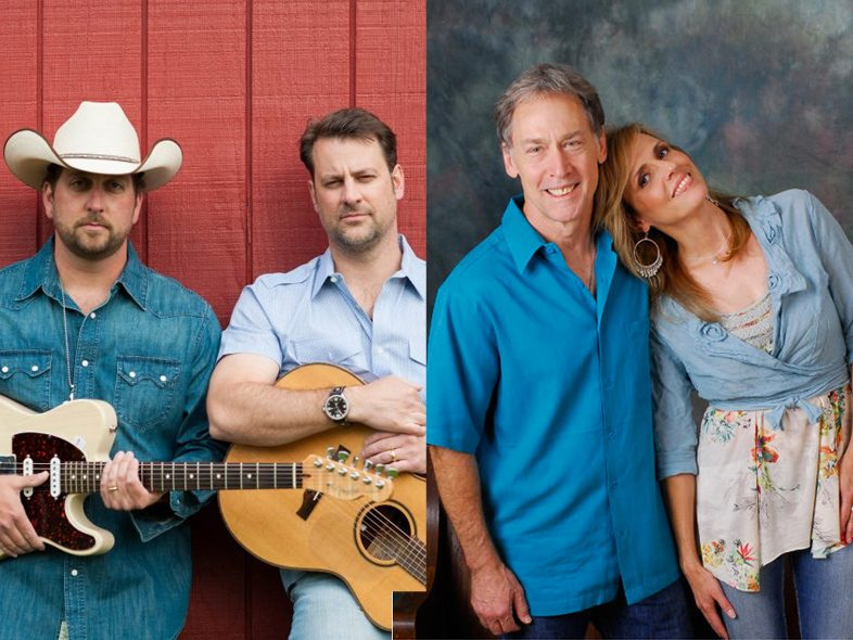 Music Row Show guests Wilson Fairchild and Kelly & Ellis