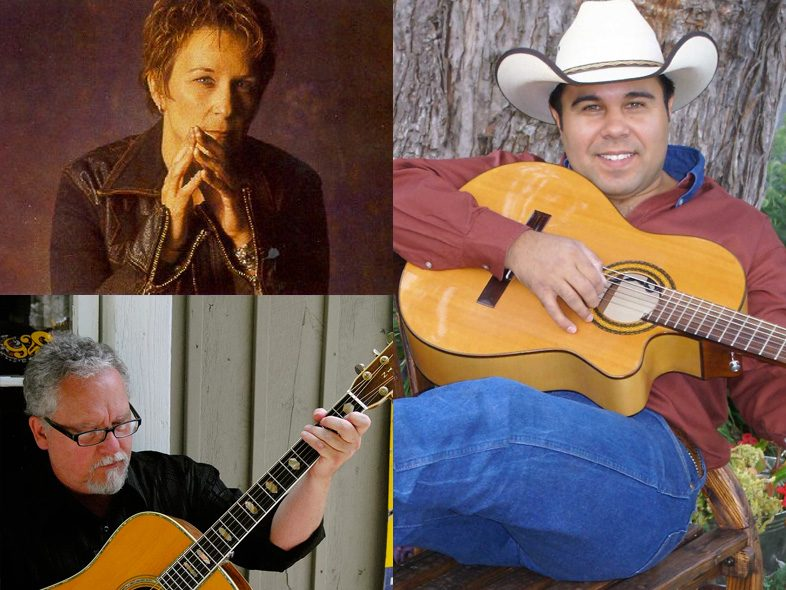 Guests Mary Gautier, Max T Barnes & Bobby Marquez
