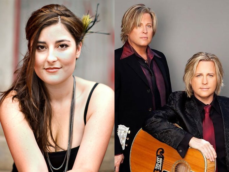 Music Row Show guests Jenny Gill and Matthew & Gunnar Nelson