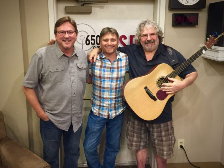 Rob Harris ands Sam Cooper on The Music Row Show